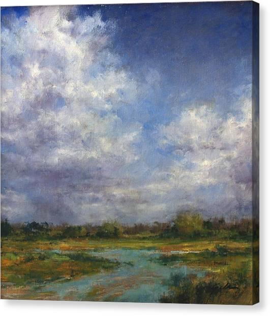 Canvas Print - The Refuge In July by Jim Gola