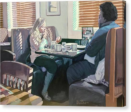 Canvas Print - The Restaurant by David Buttram