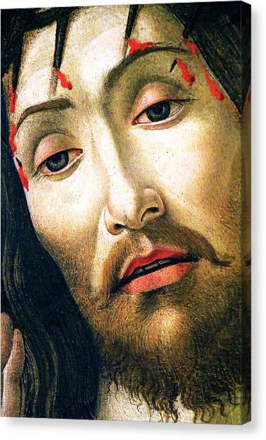Resurrected Canvas Print - The Resurrected Christ by Munir Alawi