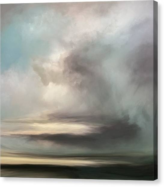 Clouds Canvas Print - The Rift by Lonnie Christopher
