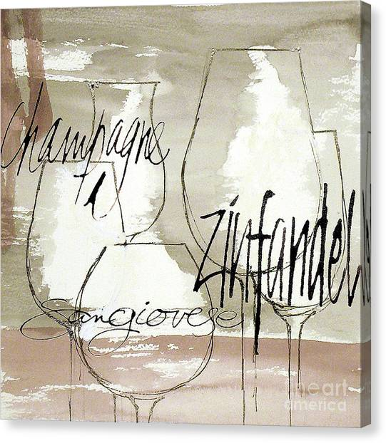 Canvas Print - The Right Glass 1 by Chris Paschke