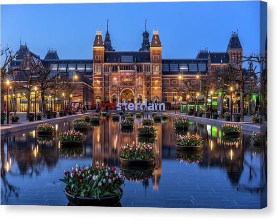 Rijksmuseum Canvas Print - The Rijksmuseum, Amsterdam by Reinier Snijders