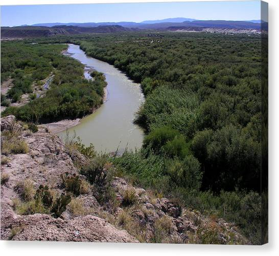 The Rio Grande River Canvas Print