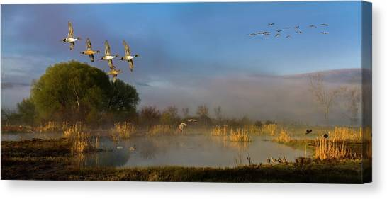 The River Bottoms Canvas Print