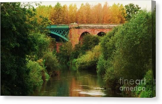 Stamford Bridge Canvas Print - Bridge Over The River Derwent by Marcus Dagan
