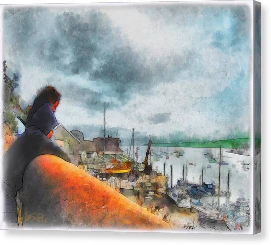 The River Exe Canvas Print