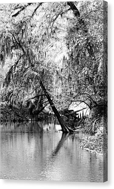 The River Filtered Canvas Print