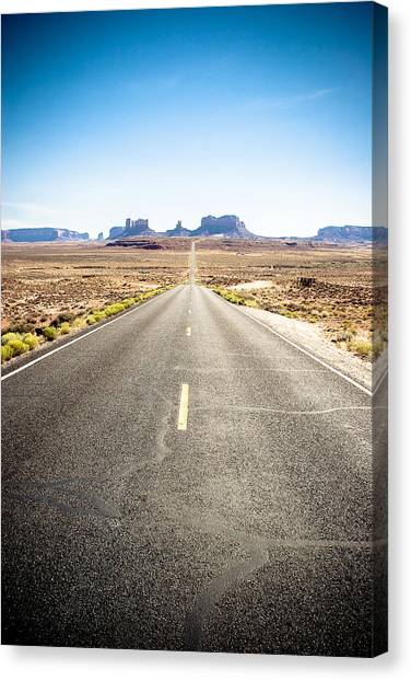 Canvas Print featuring the photograph The Road Ahead by Jason Smith
