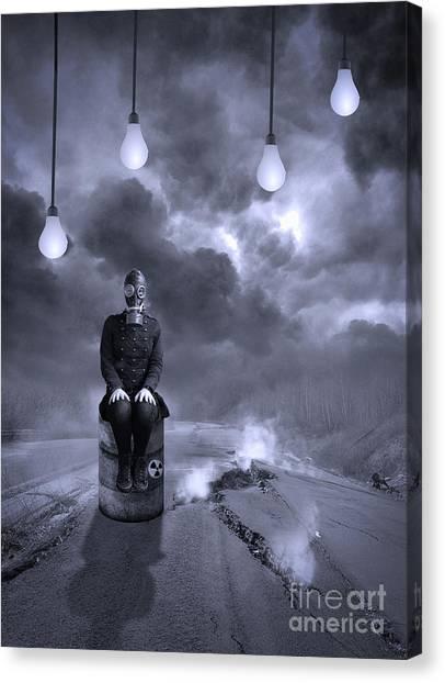 Apocalypse Canvas Print - The Road by Juli Scalzi