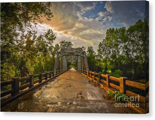 Canvas Print featuring the photograph The Road Less Traveled by T Lowry Wilson