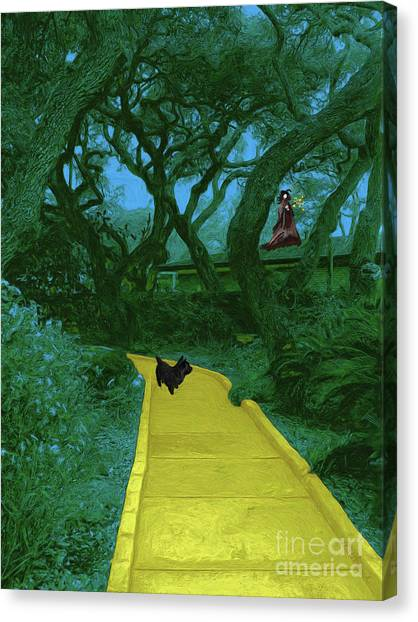 The Road To Oz Canvas Print