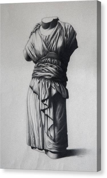 The Robe Canvas Print