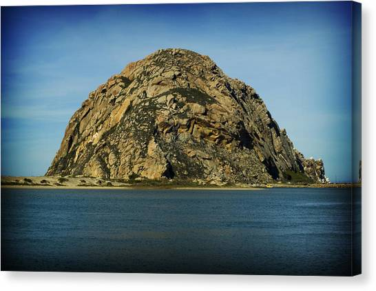 The Rock Canvas Print by John Gusky