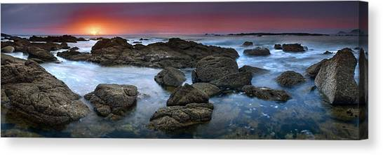 The Rock Labyrinth Canvas Print