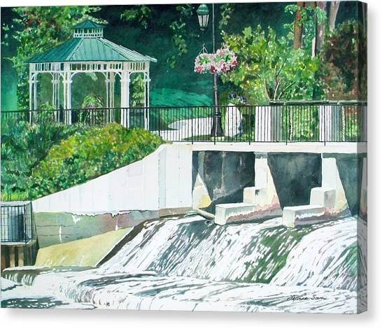 The Rockford Dam Canvas Print