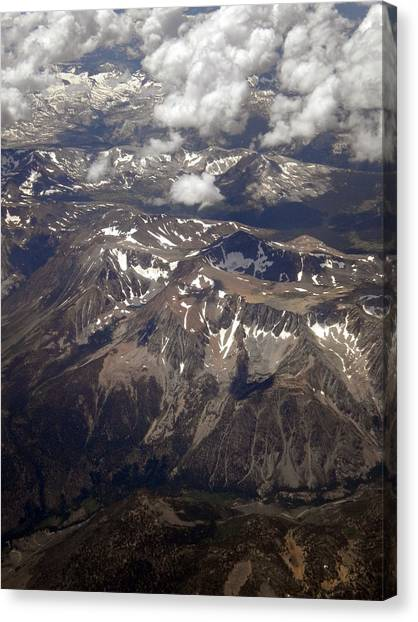 Rocky Mountains Canvas Print - The Rockies At My Feet by Nancy Dinsmore