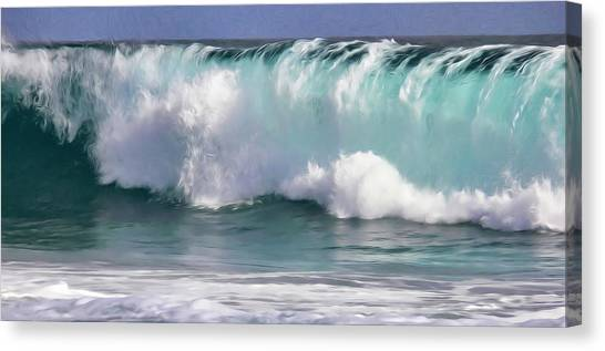 The Rolling Wave Canvas Print