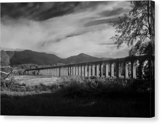 The Roman Aqueducts Canvas Print