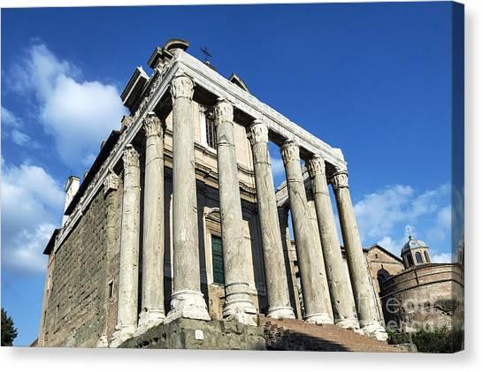 The Forum Canvas Print - The Roman Forum by John Greim
