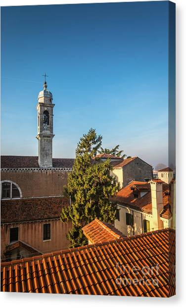 The Roofs Of Venice Canvas Print