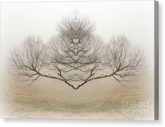 The Rorschach Tree Canvas Print
