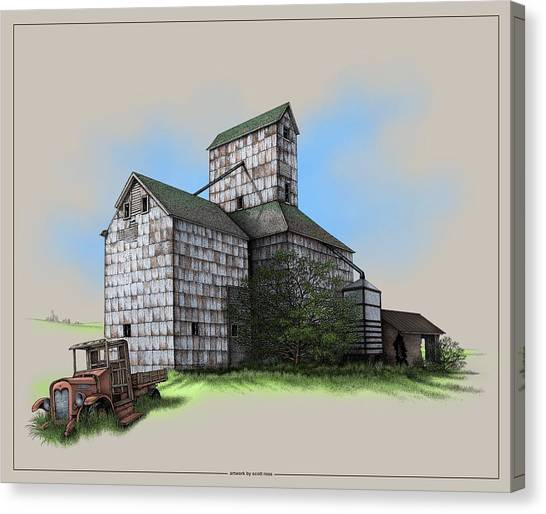 The Ross Elevator Version 5 Canvas Print