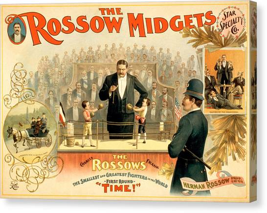 Midget Canvas Print - The Rossow Midgets by Charlie Ross