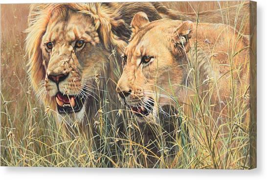 The Royal Couple II Canvas Print