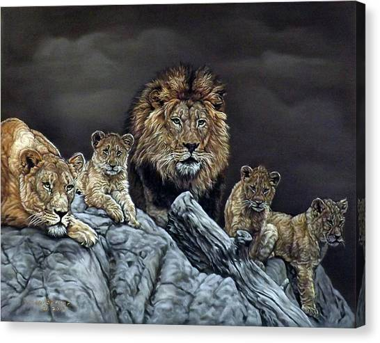 The Royal Family Canvas Print
