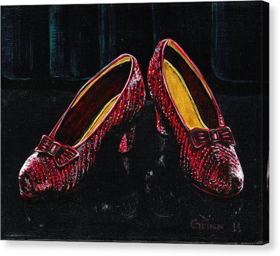 The Ruby's Canvas Print