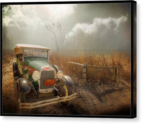 The Rural Route Canvas Print