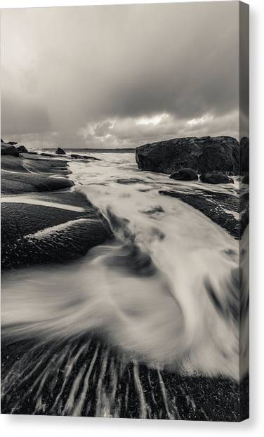 The Rush Of The North Sea Canvas Print