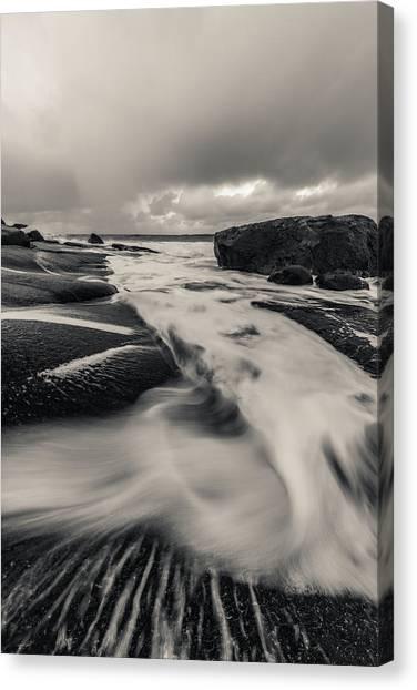 The Rush Of The North Sea Canvas Print