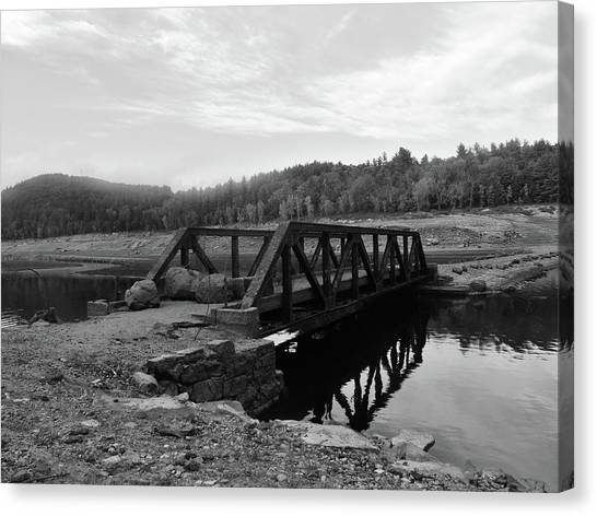 The Rusted Bridge Canvas Print by Eric Radclyffe