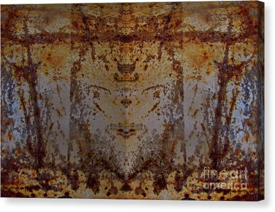 The Rusted Feline Canvas Print