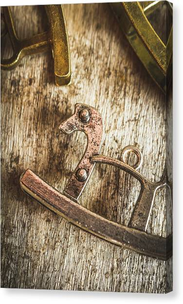 Nobody Canvas Print - The Rusted Toy Horse by Jorgo Photography - Wall Art Gallery
