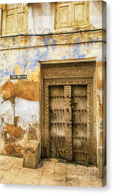 The Rustic Door Canvas Print