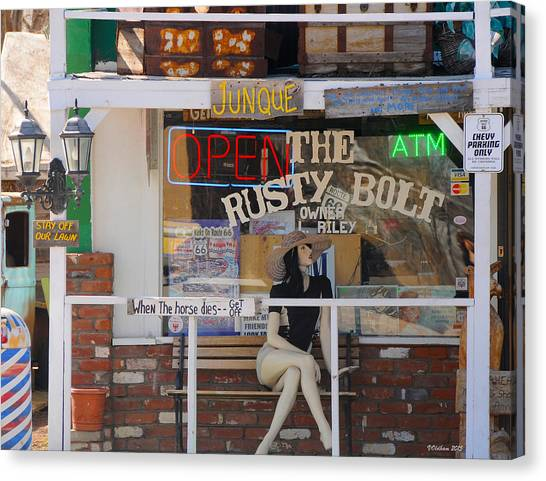 The Rusty Bolt - Seligman, Historic Route 66 Canvas Print