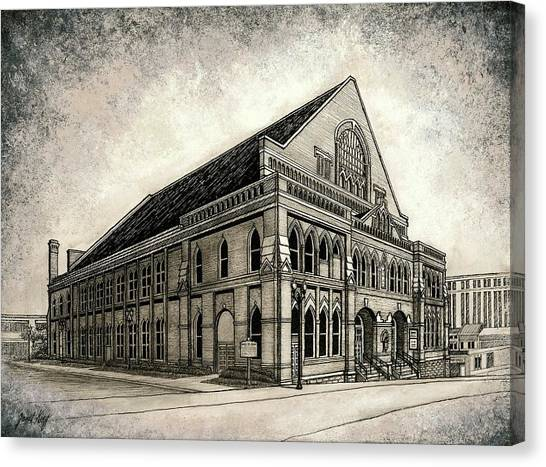 The Ryman Canvas Print