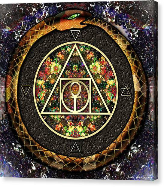 The Sacred Alchemy Of Life Canvas Print
