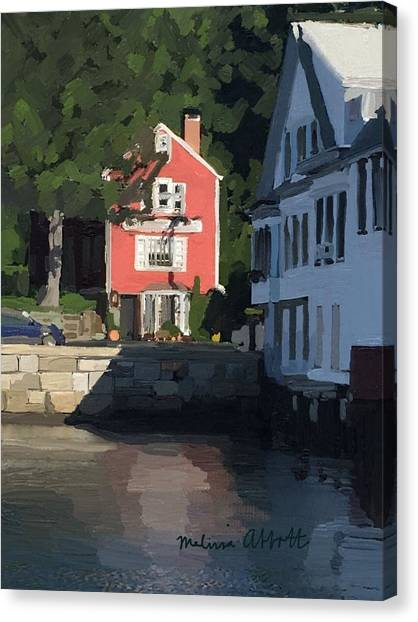Harbors Canvas Print - The Sacred Cod And Beacon Marine by Melissa Abbott
