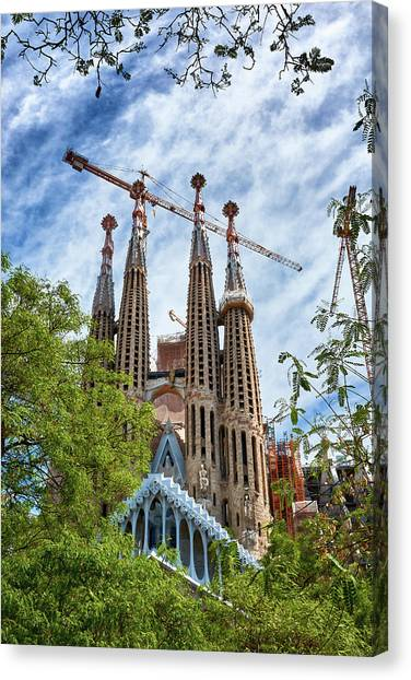 The Sagrada Familia Canvas Print