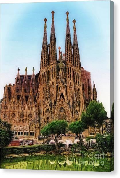 The Sagrada Familia Canvas Print