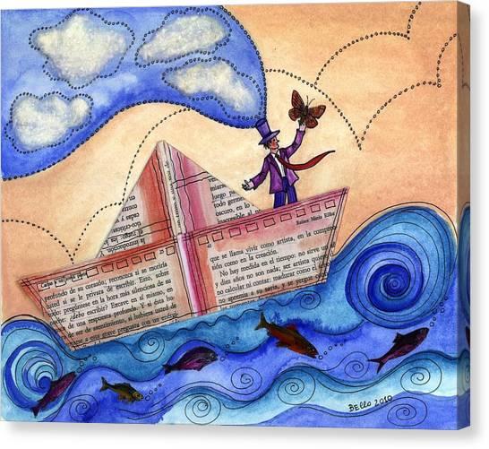 The Sailor Dreamer Canvas Print
