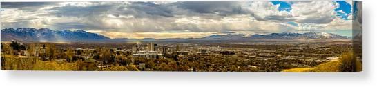 The Salt Lake Valley 2016 Canvas Print