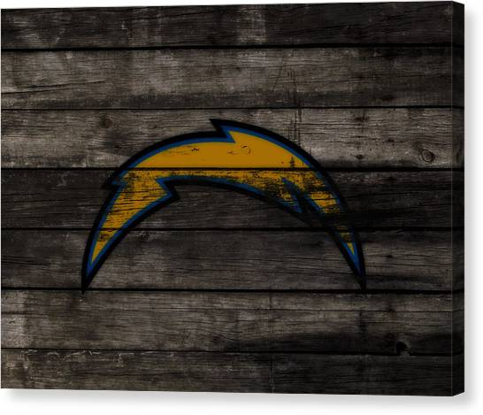 Jerry Rice Canvas Print - The San Diego Chargers 3c        by Brian Reaves