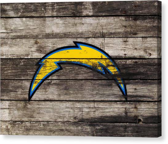 Jerry Rice Canvas Print - The San Diego Chargers 3j        by Brian Reaves