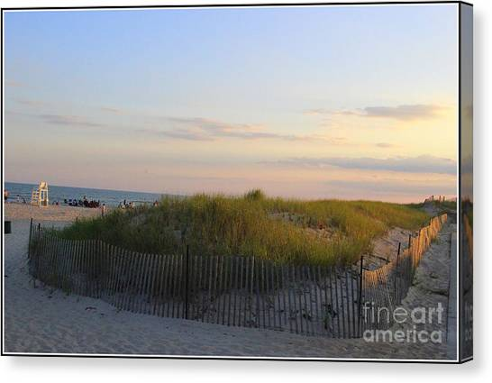 The Sand Dunes Of Long Island Canvas Print
