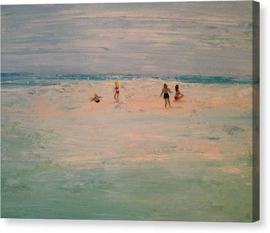 The Sandbar Canvas Print