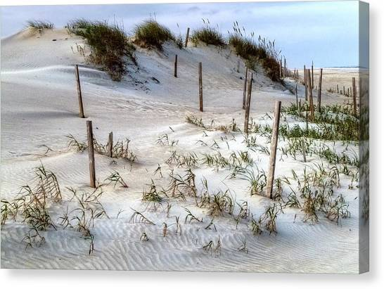 The Sands Of Obx Hdr II Canvas Print